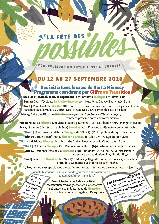 Fête des possibles 2020 : conférence France Nature Environnement